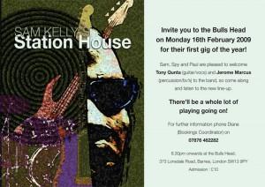 Station House Invite